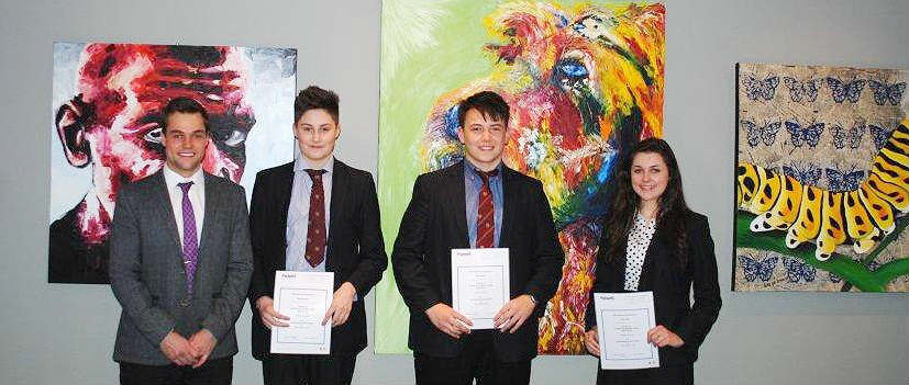 Winners of Packetts Art prize