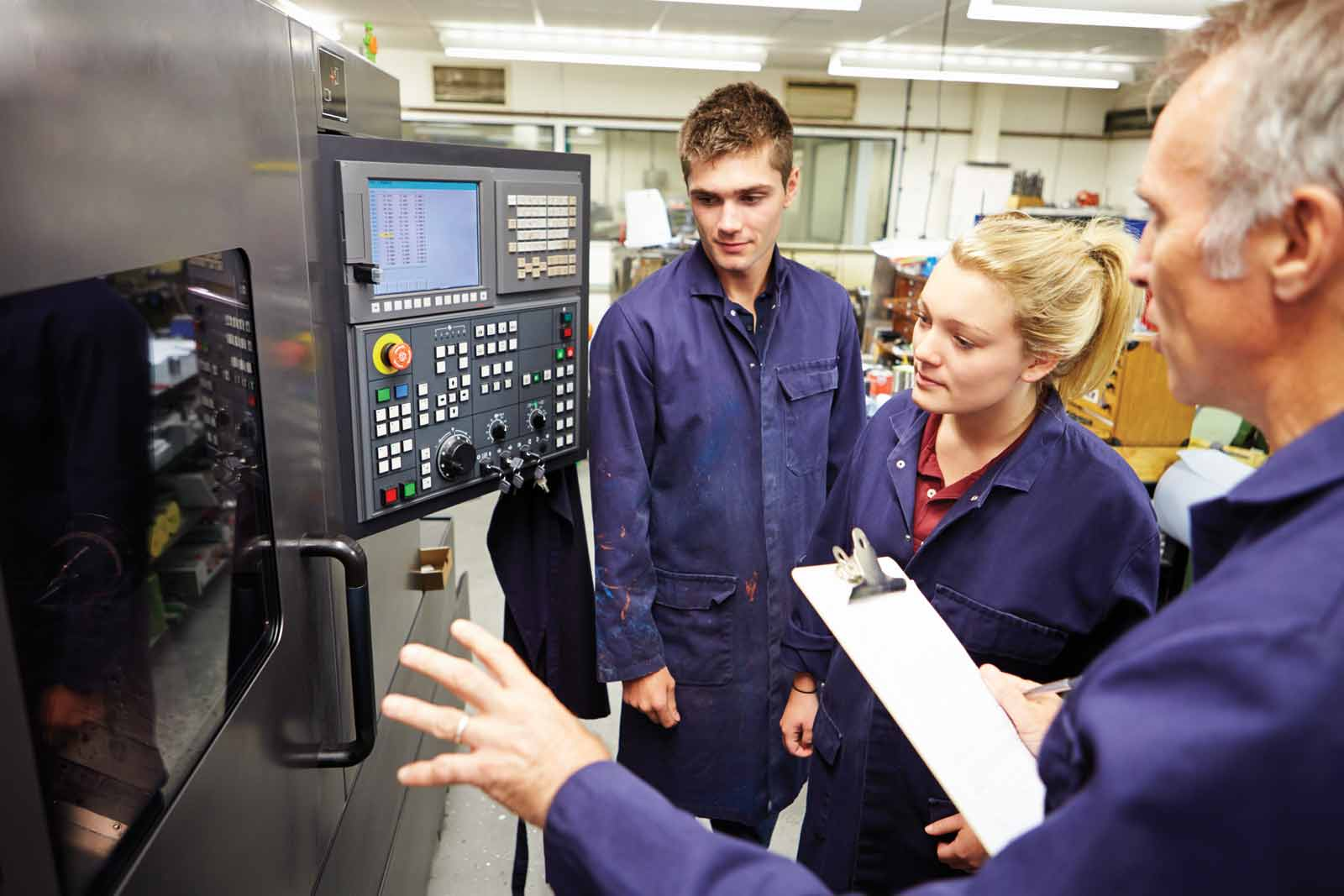 Insurance for manufacturing college, training companies